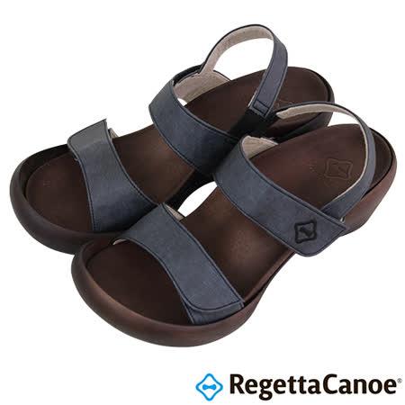 RegettaCanoe _(女款)CJLW-5501優雅樂步休閒鞋-經典黑
