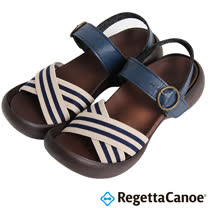 RegettaCanoe _(女款)CJEG-5221優雅樂步休閒鞋-海軍藍