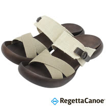 RegettaCanoe _(女款)CJFD-5310優雅樂步休閒鞋-象牙白