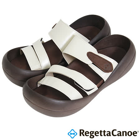 RegettaCanoe _(女款)CJBF-5148優雅樂步休閒鞋-白色