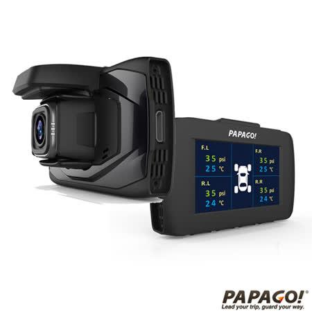 PAPAGO! GoSafe 30G GPS 測速預照後鏡 行車紀錄器警行車記錄器+16G記憶卡+螢幕擦拭布