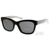 BURBERRY太陽眼鏡 英倫時尚簡約款(黑-透灰) #BU4209F 300187