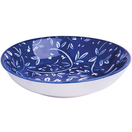 《EXCELSA》Oriented瓷醬碟(花卉藍9.7cm)