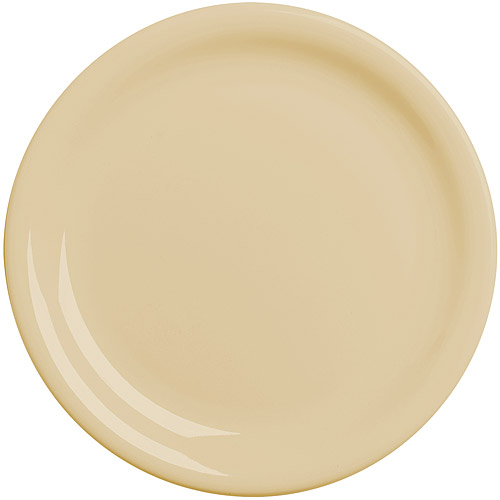 ~EXCELSA~Fashion陶製淺餐盤^(奶油黃19.5cm^)