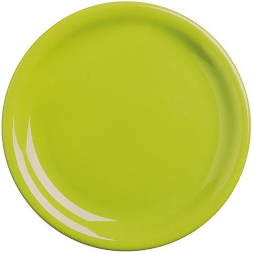 ~EXCELSA~Fashion陶製淺餐盤^(綠19.5cm^)