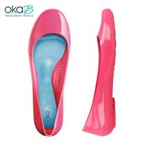 【OkaB】TAYLOR經典款亮面娃娃鞋/包鞋 粉紅(k0594BB-PIN)