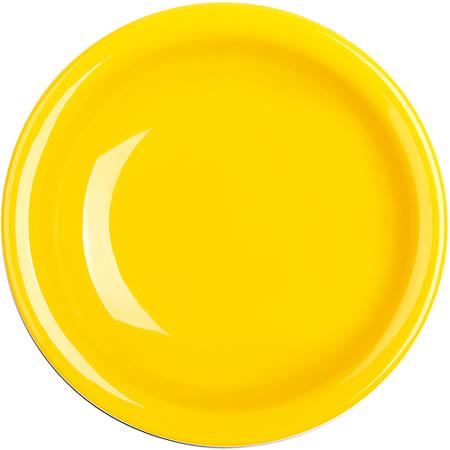 《EXCELSA》Fashion陶製深餐盤(黃22cm)