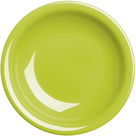 《EXCELSA》Fashion陶製深餐盤(綠22cm)