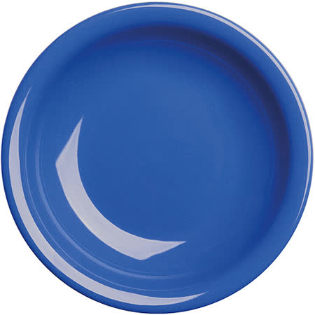 《EXCELSA》Fashion陶製深餐盤(藍22cm)