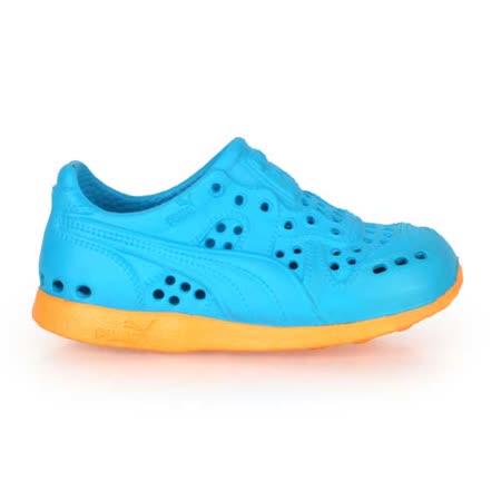 (童) PUMA RS 200 INJEX V 男女兒運動排水拖鞋-護指 水藍橘