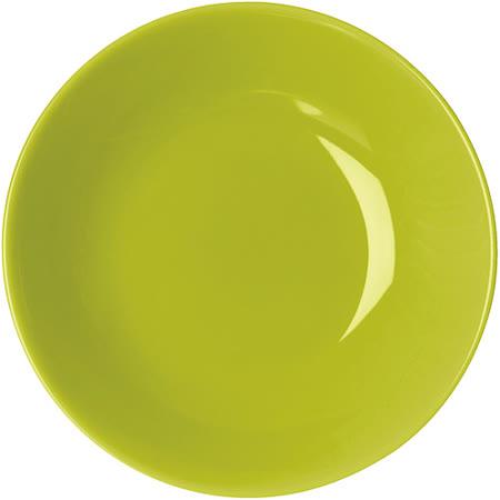 《EXCELSA》Trendy陶製深餐盤(綠20cm)