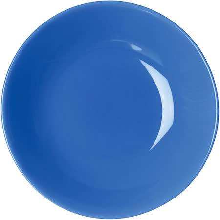 《EXCELSA》Trendy陶製深餐盤(藍20cm)