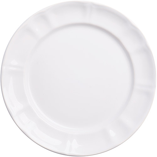 《EXCELSA》Chic陶製淺餐盤 白22cm