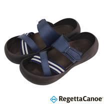 RegettaCanoe _(男款)CJBF-5139優雅樂步休閒鞋-海軍藍