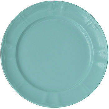 《EXCELSA》Chic陶製深餐盤(荷綠27cm)