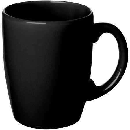 《EXCELSA》陶製馬克杯(黑260ml)