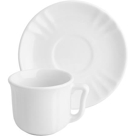 《EXCELSA》Chic陶製咖啡杯碟組(白90ml)