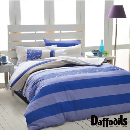 Daffodils《來自星星》單人兩件式純棉床包組.精梳純棉/台灣精製