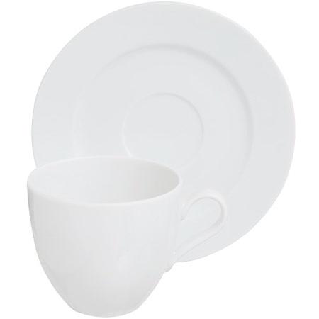 《EXCELSA》Bolko瓷製咖啡杯碟組(白200ml)