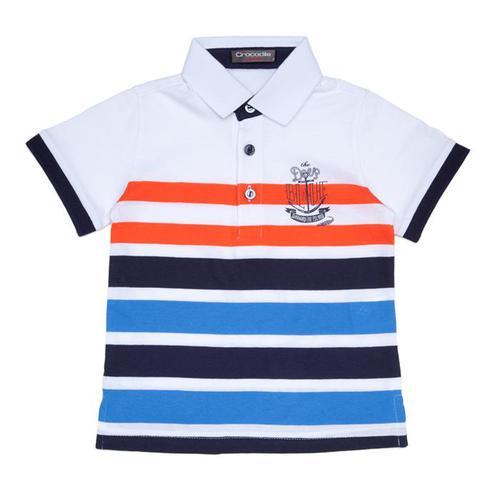 『小鱷魚童裝』條紋POLO衫(02號~10號)369102