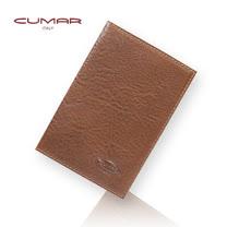 CUMAR 義大利牛皮手工證件夾0496-A8502