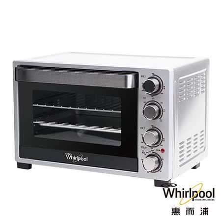 (福利品)Whirlpool惠而浦32L機械烤箱 WTO320DB