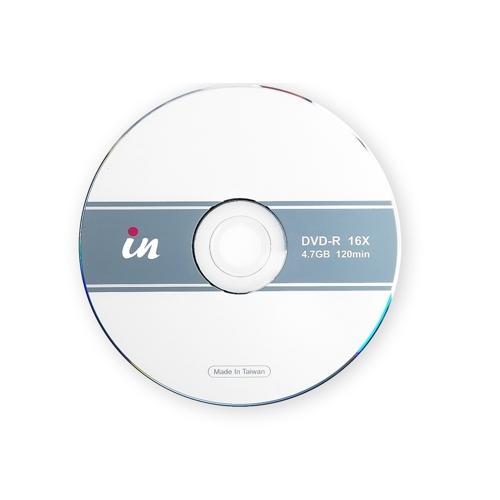 in DVD~R空白燒錄片 16X 4.7GB 120mIn20片裝