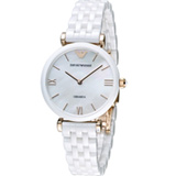 EMPORIO ARMANI Ceramica 簡單優雅陶瓷腕錶 AR1486