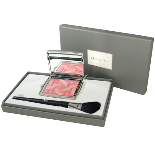 Christian Dior迪奧 籐格紋彩盤刷具組