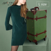 【MOIERG】Old Time迷戀舊時光combi trunk (L-23吋) Green