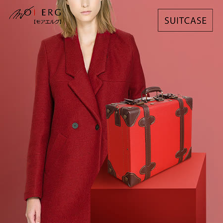 【MOIERG】Old Time迷戀舊時光combi suitcase (M-14吋) Red