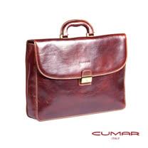 CUMAR 義大利原裝進口手提經典公事包 (附鑰匙) 0296-A4202