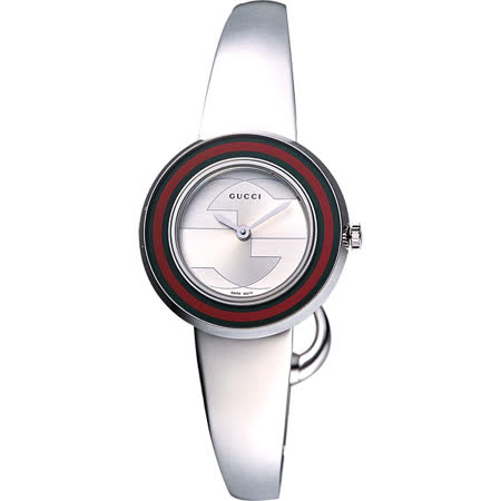 GUCCI U-Play 107系列 G&G時尚手鐲腕錶-27mm YA129506