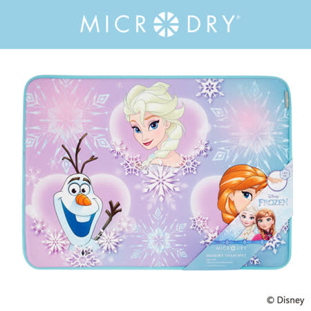 Microdry迪士尼記憶綿浴墊-冰雪奇緣