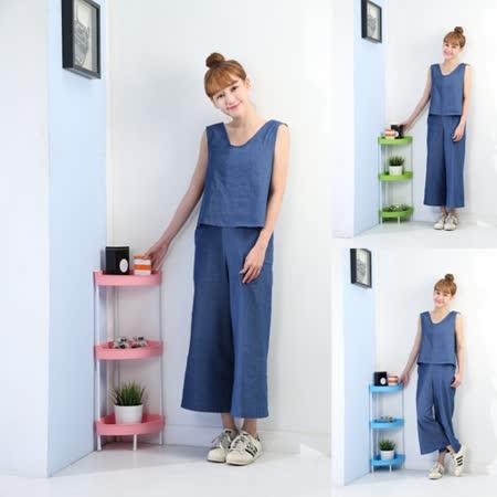 BuyJM粉彩三層轉角置物架(3色)