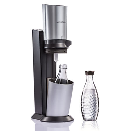SodaStream 玻璃水瓶氣泡水機Crystal(加送一個615ml玻璃水瓶)