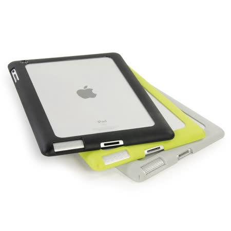 TUCANO iPad 2/3/4 時尚邊框透明保護殼