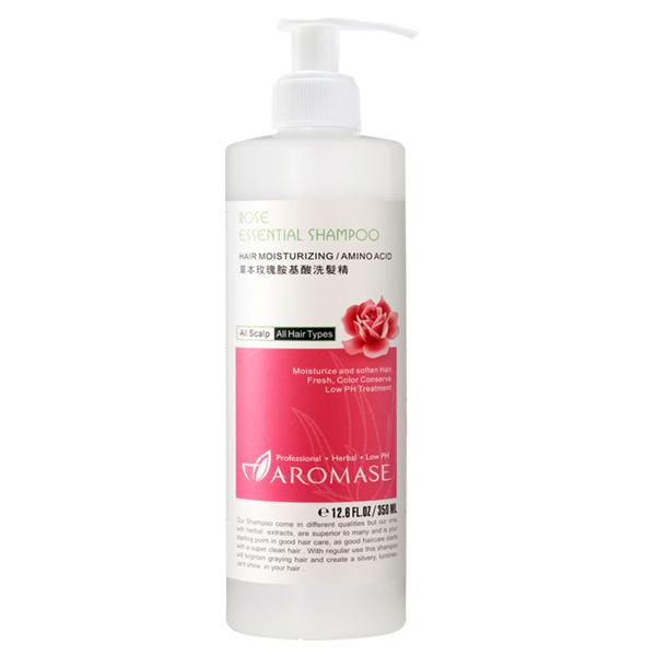 Aromase 艾瑪絲 草本玫瑰胺基酸洗髮精 (350ml)