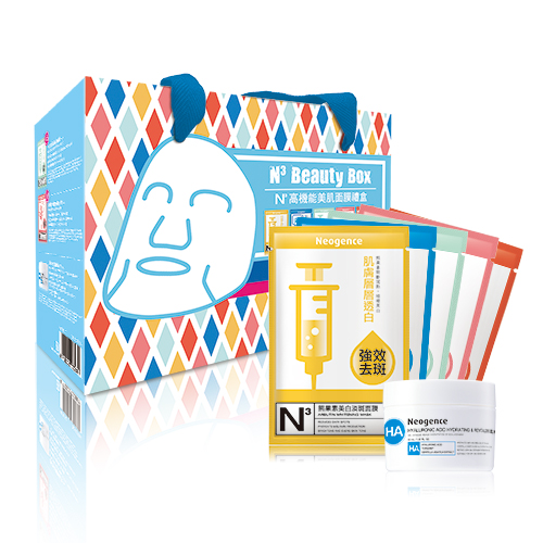 Neogence 霓淨思 N3高機能美肌面膜禮盒(盒損)