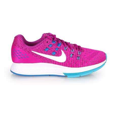 (女) NIKE AIR ZOOM STRUCTURE 19 慢跑鞋- 路跑 紫藍