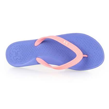 (女) UNDER ARMOUR UA SANDAL BOLT T拖鞋-涼鞋 淺紫粉
