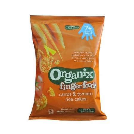 英國Organix 有機寶寶蔬菜米餅50g