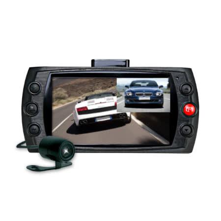 行走天下 N4D高防水行車記錄器畫質雙鏡頭行車記錄器