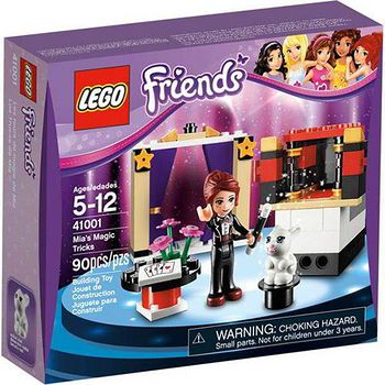LEGO樂高積木 Friends好朋友系列-米雅的魔術表演 (LT-41001)