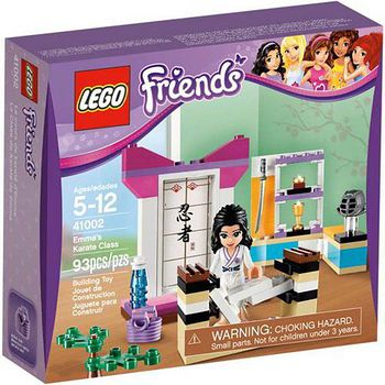 LEGO樂高積木 Friends好朋友系列-艾瑪的空手道課 (LT-41002)