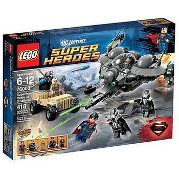 LEGO樂高積木 Super Heros超級英雄系列-超人鋼鐵英雄/超人前傳之戰 (LT-76003)