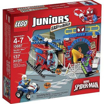 LEGO樂高積木 Juniors系列-蜘蛛人藏身處 (LT-10687)