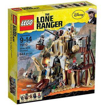 LEGO樂高積木 The Lone Ranger獨行俠系列-銀礦坑槍戰 (LT-79110)