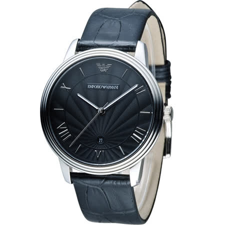 EMPORIO ARMANI Classic 簡約內斂計時腕錶 AR1611