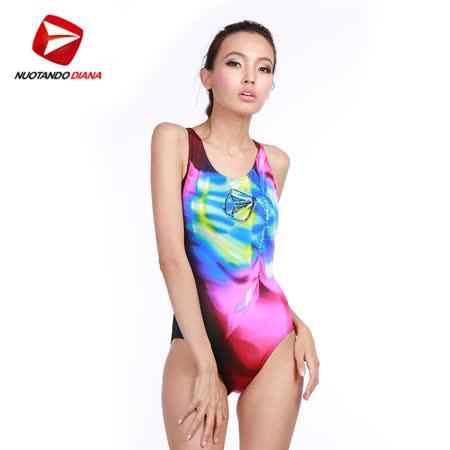 義大利DIANA成人時尚連身泳裝-N110021送美國Barracuda泳鏡